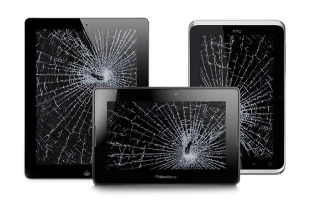 ремонт планшета - замена экрана