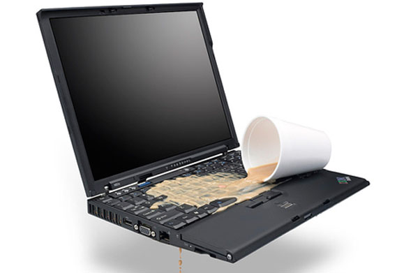 Замена залитой клавиатуры ноутбука в Новосибирске
