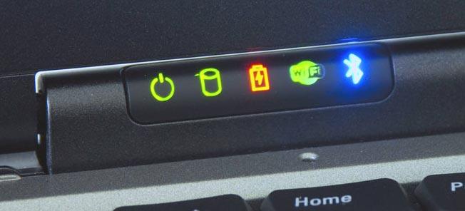 Индикатор зарядки ноутбука Asus
