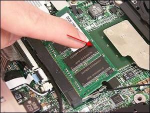 Ремонте оперативной памяти ноутбуков и нетбуков в Новосибирске