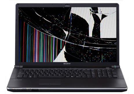 Как понять, что матрица ноутбука сломалась, компания Сервисная Фабрика в Новосибирске